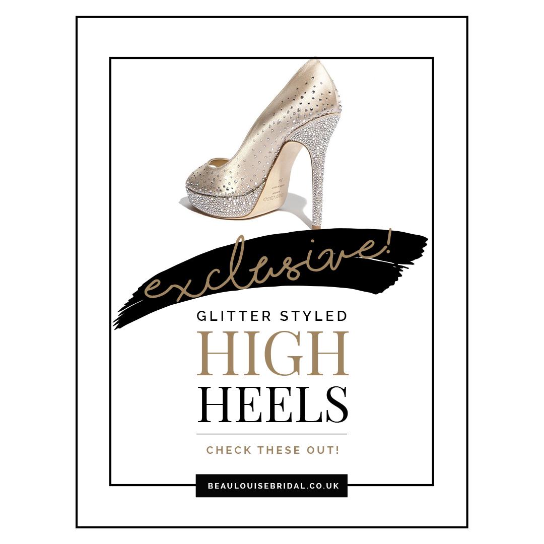 Glitter Heels EXCLUSIVE